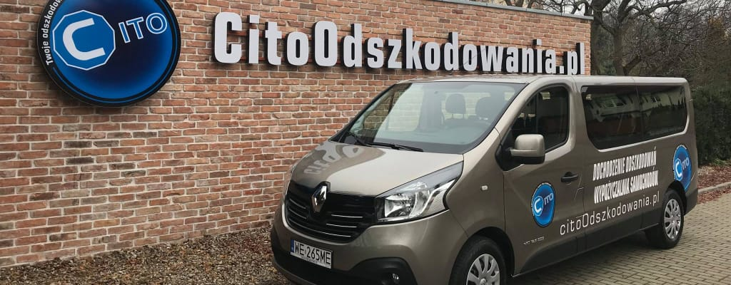 Samochód Renault Traffic - wypożyczalnia samochodów Cito Szczecin