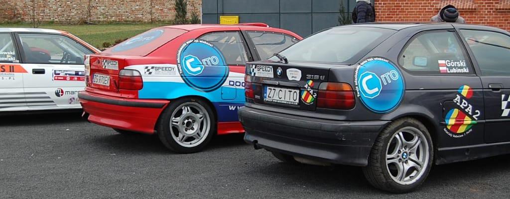 Samochody rajdowe cito na 26 finale WOŚP