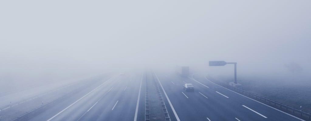 Autostrada we mgle.