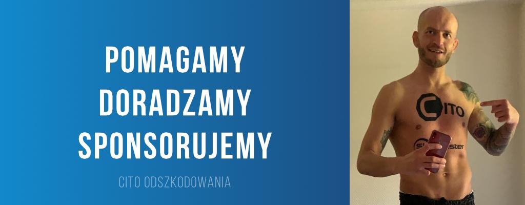 Cito sponsoruje Macieja Irokeza Jewtuszko, utalentowanego sportowca ze Szczecina.