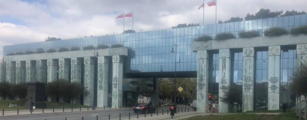 Budynek Sądu Najwyższego.