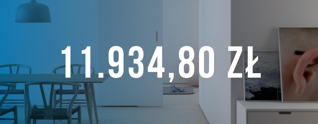 Wygrana sprawa, dopłata wyniosła 11 934 zł.