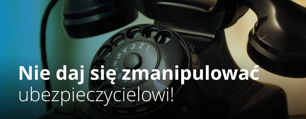 Stary telefon z tarczą