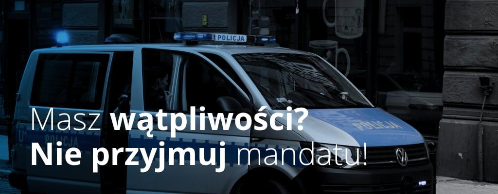 Radiowóz, Policja